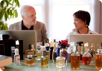 Luca Turin and Tania Sanchez - authors of Perfumes - The A-Z Guide