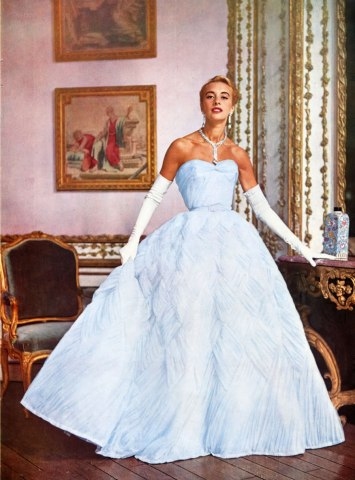 Balmain style in the 1950′s