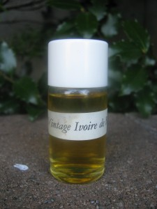 Vintage Ivoire de Balmain The Fragrant Man