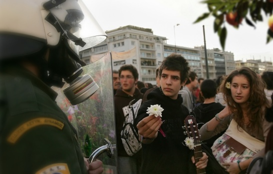 Athens Riot Amer Imprografika 2013