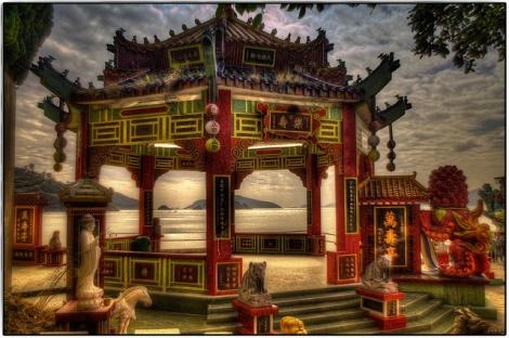 Tin Hau Temple, Repulse Bay. Photo: P-J Taylor