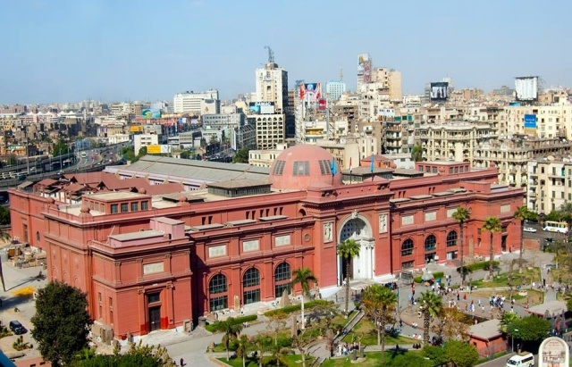The Egyptian Museum is called The Cairo Museum in Papyrus.