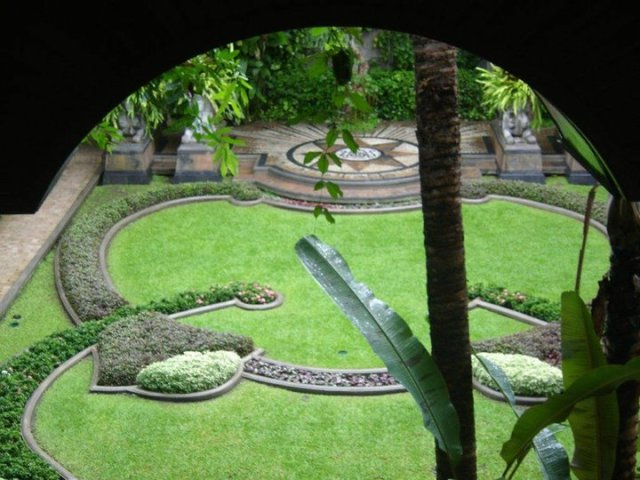 To relax I need… either silence and green gardens. This one is my friend's garden in Chiang Mai.