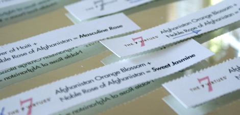 The 7 Virtues Blotter Paper
