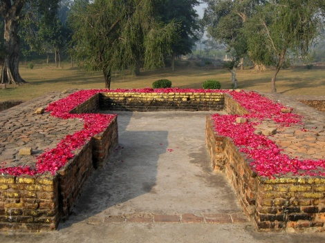 The Gandakutri in Jeta Grove near Sssss.