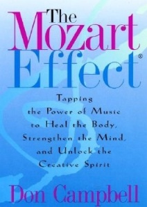 When I have a bad day, I… play Mozart on a device as opposed to on the piano or violin.