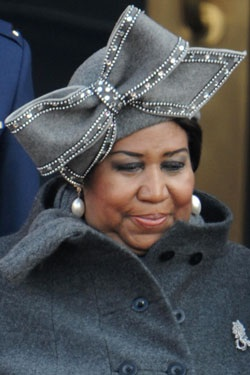 Something I would never want to miss… an Aretha Franklin concert.