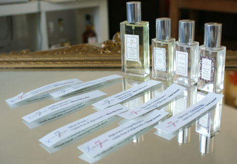Perfume blend the 7 virtues