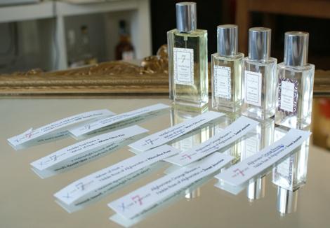 Perfume blend the 7 virtues